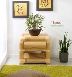 Good BENOA Bambus Nachtkonsole Nachtttisch PREMIUM EDITION
