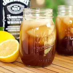 Jack's Tennessee Sweet Tea is perfectly balanced sweet and sour notes with a zing from lemon. Sweet Tea with a KICK!