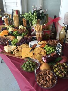 See this super quick guide to benefiting from the long standing up association between selection cheddar dairy product and brilliant grape juice. Cheese table for bridal shower How to Make an Epic Charcuterie Board Shipping Wine To Alabama Info: 911995667 Cocktail Party Appetizers, Appetizers Table, Wedding Appetizers, Appetizer Recipes, Wedding Appetizer Table, Christmas Appetizers, Party Recipes, Wine And Cheese Party, Wine Tasting Party