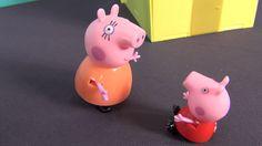 Peppa Pig en français. Peppa Cochone et Suzy Sheep vont patiner. La jamb...