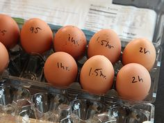 The Food Lab's Guide to Slow-Cooked, Sous-Vide-Style Eggs | Serious Eats - Fascinating. Who knew?