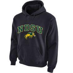 North Dakota State Bison Midsize Arch Pullover Hoodie - Dark Gray - $26.99