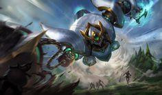 League of Legends - Lancer Paragon Blitzcrank
