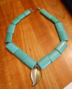 Pocahontas Turqoise Necklace by happyeverafter.deviantart.com on @deviantART