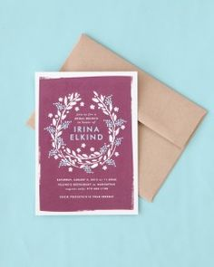Bridal Shower Invitation Wording Made Simple | Martha Stewart Weddings