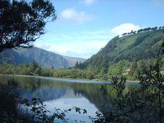 Republic of Ireland - Glendalough valley in County Wicklow