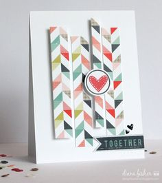 Card by Diana Fisher using Lily Bee Design We R Family collection #lilybeedesign #cards