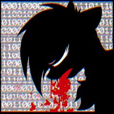 #1202458 - animated, artist:wingedwolf94, blood, databending, error, eyes closed, glitch, hematemesis, pony island, portrait, seizure warning, semi-grimdark, solo - Derpibooru - My Little Pony: Friendship is Magic Imageboard