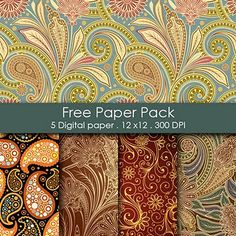 Free Paper Pack by Shery K Designs