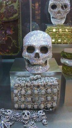 Skulls everywhere!
