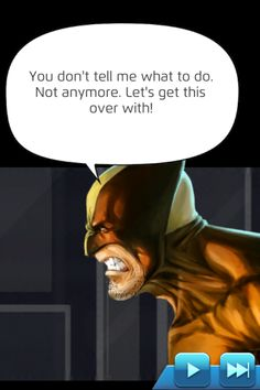 #Wolverine #Fan #Art. (Dialogue Daken (Dark Avengers) In: Marvel Puzzle Quest! Art) By: AMADEUS CHO! (THE * 5 * STÅR * ÅWARD * OF: * AW YEAH, IT'S MAJOR ÅWESOMENESS!!!™)[THANK Ü 4 PINNING<·><]<©>ÅÅÅ+(OB4E)