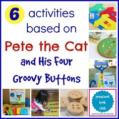 Do you love Pete the Cat?  This is such a creative collection of activities…