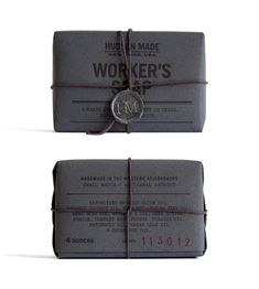 hudson made worker's soap. hovard design.