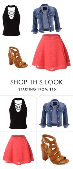 """Alisha Marie"" by tomboy45 on Polyvore featuring Miss Selfridge, maurices, LE3NO and Bamboo"