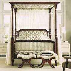 hickory chair furniture beds reclining accent canada 86 best images alexa hampton dining room belle queen canopy rods only from the collection by co