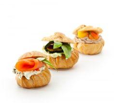 Matzah Buns with Parsley-ed Cream Cheese
