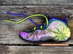 "Nike Air Foamposite One ""420″ Customs by Gourmet Kickz"