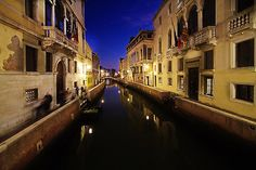 Night Canal by Robyn Carter