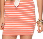 http://www.forever21.com/Product/Product.aspx?BR=f21=btms_skirts=2078968541=    Salmon Striped Knit Skirt