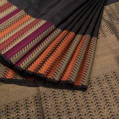 Buy Online Saris - one stop destination for shopping at Best Prices in India. Kanchipuram Saree, Handloom Saree, Bridal Blouse Designs, Saree Blouse Designs, Soft Silk Sarees, Cotton Saree, Black Saree, Elegant Saree, Work Sarees