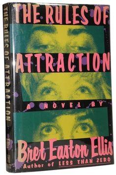 Bret Easton Ellis - The Rules of Attraction - HCDJ 1st 1st - USA