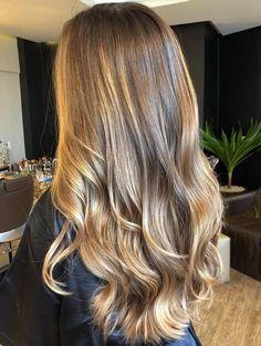 Brown Hair With Blonde Balayage, Brown Hair With Caramel Highlights, Hair Highlights, Balayage Hair, Front Highlights, Purple Highlights, Honey Highlights, Summer Highlights, Caramel Blonde