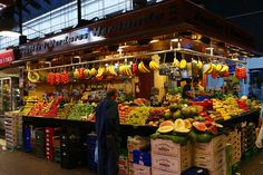 La boqueria, barcelona Opened since 1803 it showcases 120 retailers dispense everything from seafood to coffee. Open Tuesday through Saturday. The Saturday Farmers Market in the adjacent building brings even more options. On Sunday shop for antiques. Beautiful Places In Spain, Most Beautiful, La Boqueria, Andalusia Spain, Barcelona Travel, Free Things To Do, Stuff To Do, At Least, Marketing