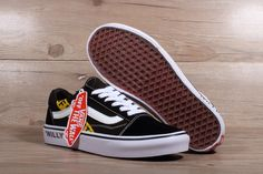 2018 Really Cheap Unisex OFF WHITE x Vans Old Skool Willy Black Yellow White  Skateboard Shoe caffdc552
