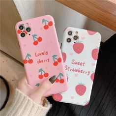 DCHZIUAN Lovely Cherry Pink Case For iphone 11 Pro max phone case for – Touchy Style