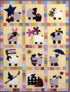 sheep quilt...cute!