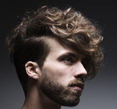 My Sidecut Prasentiert Von Hair And Me Men Haare Curly Lockig Locken Curls Short Kurz Beard Bart Brown Braun