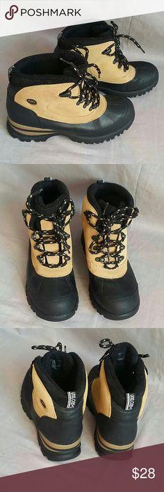 Sporto Boots Shoes 7.5 M Leather Rubber 41e8338805078