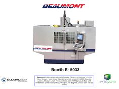 Beaumont EDM Drill Machines Fast Hole 6 Axis