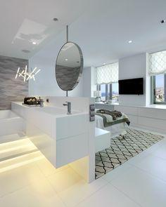 Molins Interiors // arquitectura interior - interiorismo - dormitorio - principal - baño - suite - espacios