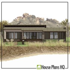 Size (Internal): 145m2 Bedrooms: 3 Bedrooms Bathrooms: 2.5 Bathrooms Parking: Optional Extra Estimated Building Cost: R 1 183 635 (Calculated at the national average building rate @ R8163 per m2) OVERVIEW: The Rhino Lodge is a comfortably sized 3 bedroom house plans. 2.5 bathrooms. African styled family house. There is no garage, however there is an option to add a free standing garage if you choose to do so. LIVING AREAS: The house has an open plan kitchen, lounge and dining room and a… Built In Braai, Building Costs, Timber Deck, Thatched Roof, Bedroom House Plans, Open Plan Kitchen, Sliding Glass Door, Outdoor Dining, Swimming Pools