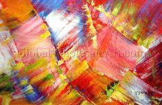 """Daring And Beautiful"" - $239 - Original Oil Painting from www.globalwholesaleart.com"
