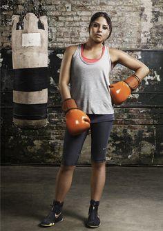 CoverGirl Signs U.S. Olympic Hopeful Marlen Esparza - Buhyaaa! Womens boxing rule. :)