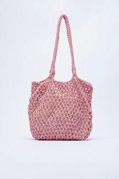 Pink Leather, Leather Sandals, Shopper Bag, Tote Bag, Zara, Ankle Strap, Straw Bag, Shoulder Straps, United States