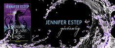 #JenniferEstep #Book #Giveaway – #Amreading Bright Blaze of #Magic #BlackBlade