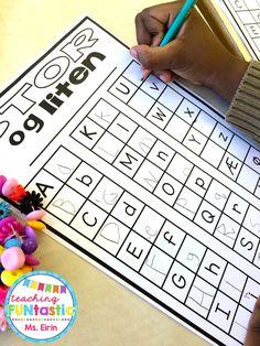Uke 10 - PY 1: Vi repeterer stor/liten bokstav og bokstavforming