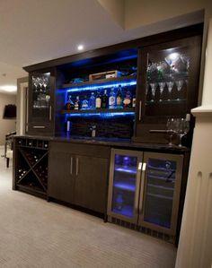 Bar cabinets I saw on Houzz.com