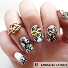 Lacquered Lawyer | Nail Art Blog: Boo-gie Down