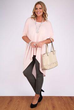 Yoursclothing Womens Plus Size Charcoal Viscose Mix Full Length Leggings: Amazon.co.uk: Clothing
