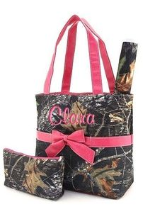 When I have a baby you now know what to get me LOL :)  1st thing on the list LOL  Diaper Bag Personalized Mossy Oak Camouflage Camo Pink by parsik93, $38.99 love this for boy or girl