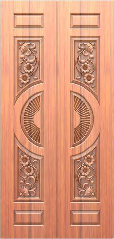 Wooden Front Door Design, Double Door Design, Wooden Front Doors, Front Design, Wood Design, Modern Exterior Doors, Architectural House Plans, Lord Murugan, Door Design Interior