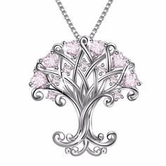 Sterling Silver Pendant Necklace Women Fashion Vintage Pink Heart Cubic Zirconia | Jewelry & Watches, Fashion Jewelry, Necklaces & Pendants | eBay!