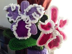 Orchids ~ free pattern