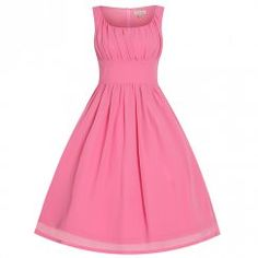 'Christianne' Pink Prom Party Dress