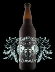 Obscuritas Dark Sour — The Dieline - Package Design Resource
