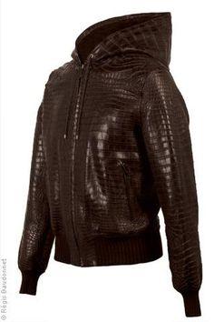 Hermes Crocodile Jacket